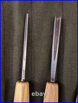 12-piece Swiss-made Pfeil Wood Carving Tool Set