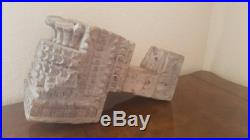 18Th C Indonesian Architectural Salvage Hand Carved Wood Moulding! Sculpture art