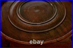 1900's Chinese Hardwood Hard Wood Carved Carving Vase Stand 475 Gram AS IS