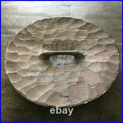 20 Antique Round Bamileke Shield Wood Tribal Shield Tribal Decor Carving