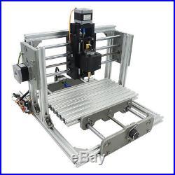 3 Axis DIY CNC USB Desktop Engraving Machine PCB Wood Milling Carving Engraver