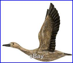 3 Rustic Carved Migrating Birds Dimensional Pine Wood Wall Sculpture up to 23 H