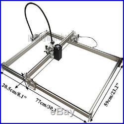 5065CM 5.5W 5500MW Mini Laser Engraving Carving Machine DIY Image Logo Printer