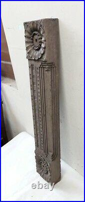 Antique Door Panel Wooden Wall Architectural Hand carved Estate Home Decor