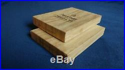 Antique Henry Taylor Wood Carving Tools Complete Sets 1 & 2 NEW England Made