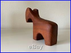 Antonio Vitali Playforms Mid-Century Modern Carved Wood Sculpture Animal Toy Ram