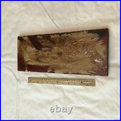 Authentic Antique Chinese Wood Panel Carving Asian Artwork Ca. 1600-1800s B
