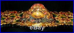 Balinese Boma Barong Singa Mask Wall Hanging Relief Panel wood carving Bali art