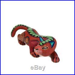 CAT Oaxacan Alebrije Animal Wood Carving Hand-made Mexican Folk Art Sculpture