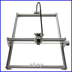 CNC 100X100 Laser Kit & 2.5W Laser Module Wood Carving Engraving Milling Machine