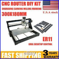CNC 3018 PRO Router Laser Engraving Machine PCB Wood DIY Carving Milling Desktop