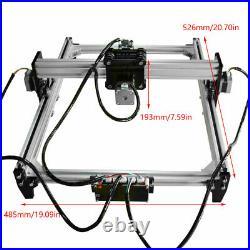 CNC Laser Engraver Kit Wood Carving Engraving Cutting Machine Desktop Printer