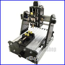 DIY Mini 3 Axis CNC Router Wood PCB Milling Carving Engraving Machine Desktop