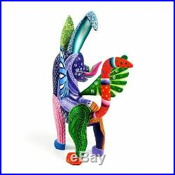 Dante Dog Oaxacan Alebrije Wood Carving Sculpture Folk Art