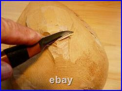 Davis Bros. Custom Collectible Hand Made Nostalgia #70 Wood Carving Detail Knife