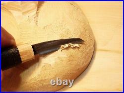 Davis Bros. Custom Collectible Hand Made Nostalgia #80 Wood Carving Detail Knife