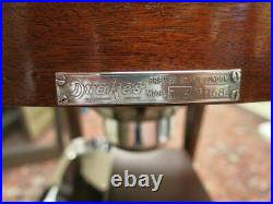 Drakes Of London, Art Deco Style Wood & Silver Carving Trolley