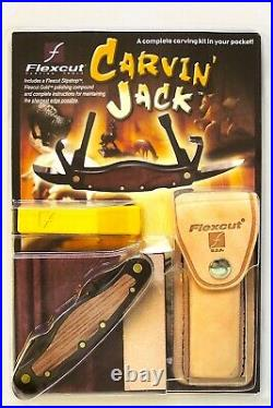 Flexcut Carvin Jack Right Handed Wood Carving Knife Set Made In USA
