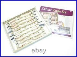 Flexcut KN12 KN19 KN250 18 Piece Wood Carving Deluxe Knife Tool Set FLEXKN250