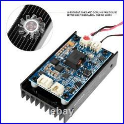 Focusable 450nm 5.5W Blue Laser Module TTL Carving/Burning/Engraning + Adaptor