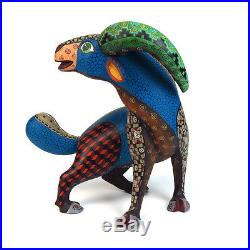 GOAT Oaxacan Alebrije Animal Wood Carving Hand-made Mexican Folk Art Sculpture