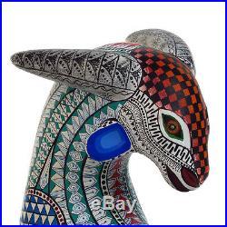 GOAT Oaxacan Alebrije Wood Carving Handcrafted Fine Mexican Folk Art Sculpture