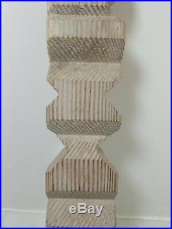 George Marinko Abstract Carved Wood Sculpture Surrealism Original Art CT artist