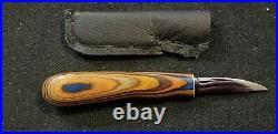Helvie 2 1/4 Roughout Floyd Rhadigan Handle Wood Carving Knife