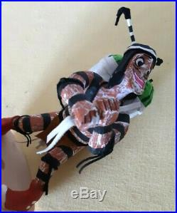 Hopi Hand Carved Painted All Wood Koshare Clown Water Melons Kachina 8.5 Signed
