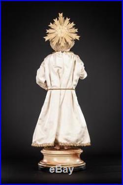 187 Infant Jesus Of Prague Sculpture Child Christ Statue