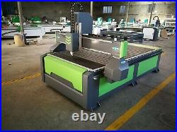 Jinan cnc router wood carving 3d with water cooled spindle 5x10feet wood router