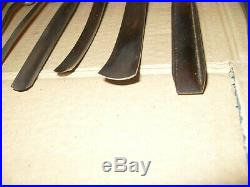 Job Lot Of 18 Wood Carving Tools Marples / Taylor / Pfiel / Iles / Addis Etc
