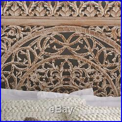 Large Rustic Decorative Square Wood Carved Lacework Scroll Wall Panel Home Decor