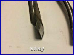 Marples 6 Pc Wood Carving Tool Set Mahogany & Walnut Case
