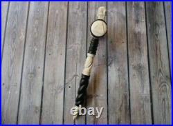 Masonic Freemason Gavel Hammer from Wood and Deer Antler Hand Carved