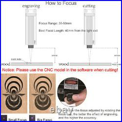 NEJE 20W Wood Metal Engraver Engraving Carving Machine Carver Mark Printer A4J5