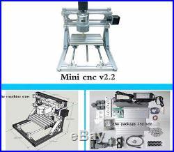 NEW DIY 3 Axis Engraver Machine Milling Wood Carving Engraving Kit CNC