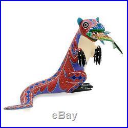 OTTER Oaxacan Alebrije Wood Carving Mexican Folk Art Sculpture Painting