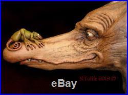 Original Wood Spirit Carving Sculpture Creatures Friends Dragons! Nancy Tuttle