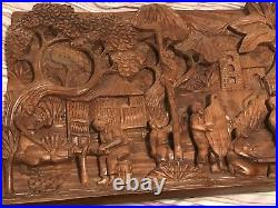Philippines Wood Carving