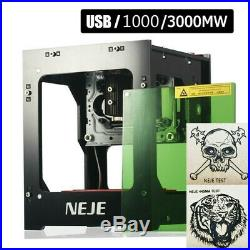 Professional DIY Desktop Mini Laser Engraver Cutter Wood Carving Machine Router