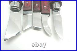 Ramelson 10 Pc Wood Carving Tools Knife Set With Tool Roll Belt Woodworking