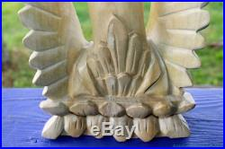 Saraswati Goddess Statue Art Knowledge Balinese Carved Wood Sculpture Art 25
