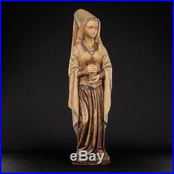 St Mary Magdalene Sculpture Saint Magdala Statue Wood Carving 21