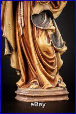 St Rita of Cascia Sculpture Saint Wooden Statue Wood Carving Figure 12