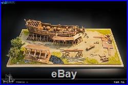 Utrecht Pegasus Scale 1/50 17.71 Wood Carving pieces Wood Model Ship Kit