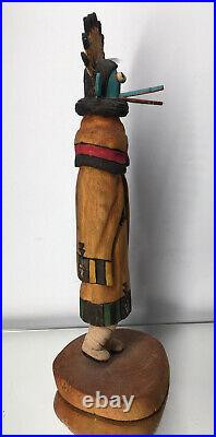 Vintage Native American Raphael Jose Jr. Hopi Kachina Doll Wood Carving