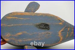 Vintage Wolf Creek Folk Art Wooden Jonah & The Whale. Eldora, Iowa