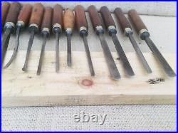 Vintage Wood Carving Chisels, Addis, Henry Taylor