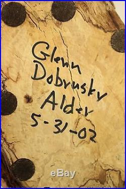 Vtg Glenn Dobrusky Chainsaw Carved Wood Mallard Duck Fine Art Sculpture Signed